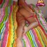 foto Bombón en lencería rosa y tremendo culo