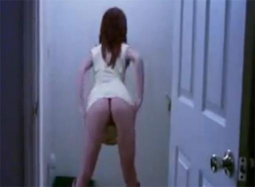 foto Jovencita sexy mostrando el culo