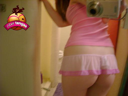 Jovencita del culo suave de los pantalones beige - 3 part 8